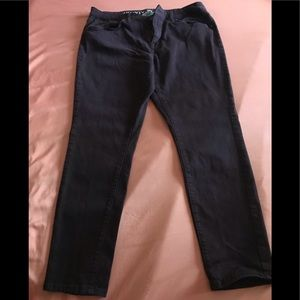 Ava &viv maroon skinny jeans size 16w